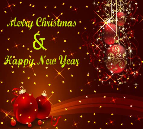 bright  special  year  merry christmas wishes ecards