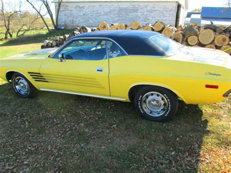 black and yellow dodge challenger seller of classic cars 1974 dodge challenger yellow black
