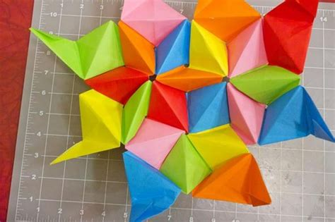 how to make an origami dodecahedron pentakis dodecahedron dimensions crafts