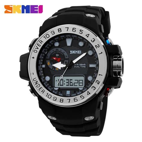 Promo Skmei Casio Sport Led Water Resistant 50m Ad1117 skmei casio sport led water resistant 50m ad1063 silver jakartanotebook