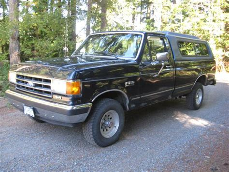 89 ford f150 89 ford f150 4x4 with low low kilometers parksville