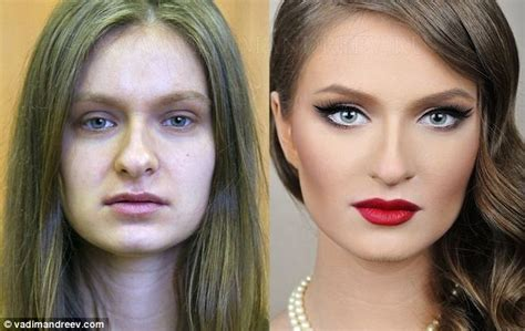 Makeup Makeover Most Amazing Make Up Makeovers Show Plain