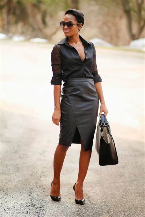 now this is how you wear a leather skirt quot the daileigh