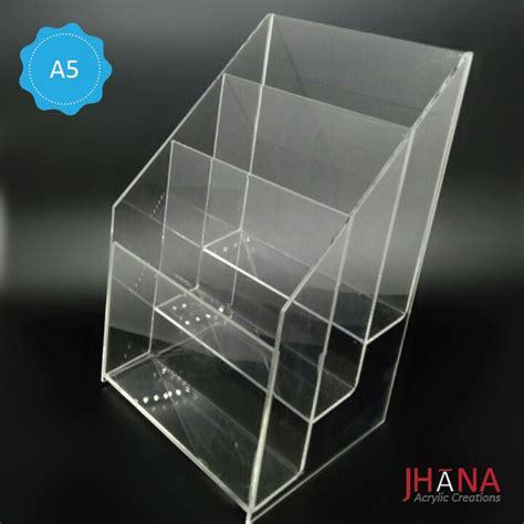 Acrylic Tempat Brosur Meja 3 category tempat brosur acrylic akrilik acrylic display harga acrylic jual acrylic harga