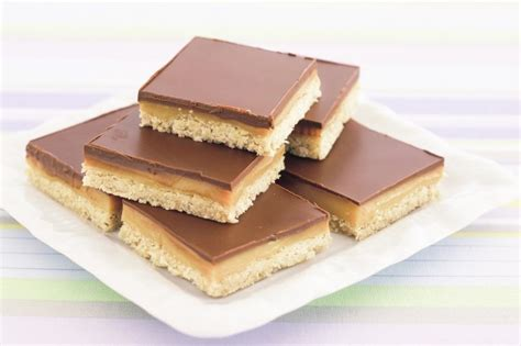 chocolate caramel slice recipe taste au