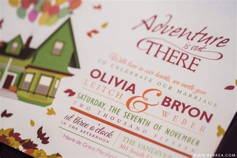 bryon up themed vandiver inn wedding photography by with pop up wedding invitations