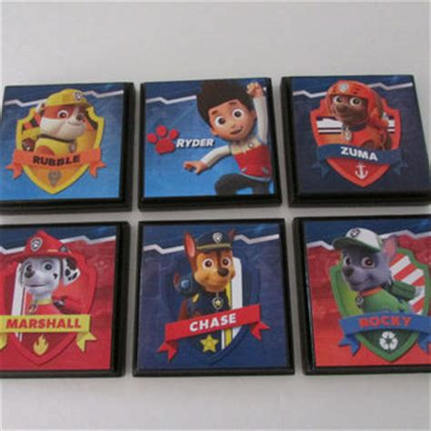 Paw Patrol Room Decor Paw Patrol Room Wall Plaques Set From Justforyou22