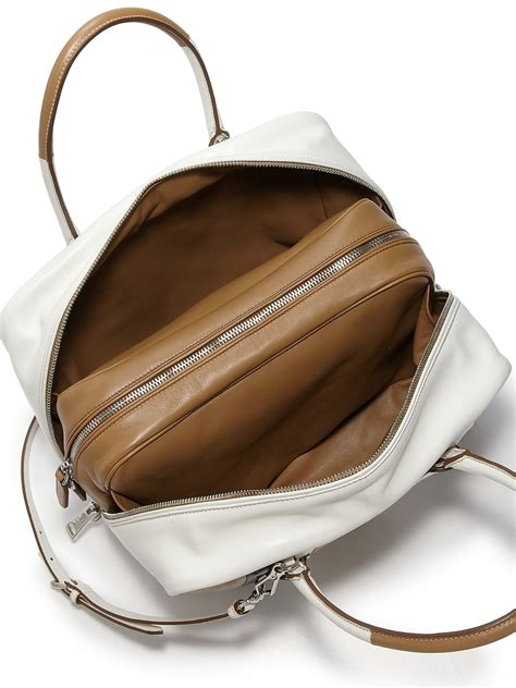 Handbag Pria Prada Brown Premium Quality prada calf baiadera small frame bag best quality hermes birkin replica