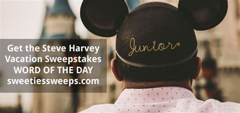 Steve Harvey Disney Sweepstakes - steve harvey morning show vacation a day sweepstakes keywords