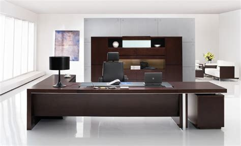 Contemporary Executive Office Desk Professional Office Desk Sleek Modern Desk Executive Desk Company