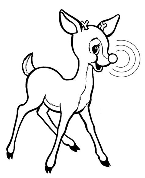 rudolph the nosed reindeer template printable rudolph coloring pages coloring me