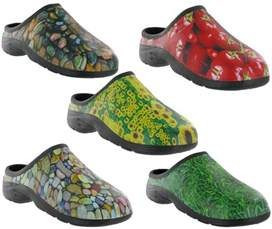 out door gardening clog waterproof back garden shoes mens