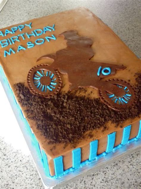 18 Best Images About Motorbike Cakes Treats On Pinterest