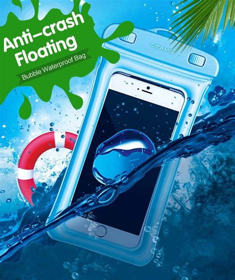 Waterproof Underwater Diving Shockproof Screen Touch Cover For Iphone 3 usams yd007 ipx8 waterproof touch screen gasbag floating phone bag shockproof airbag bumper