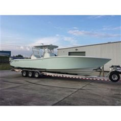 boat wraps albury billfish 39 center console powered by triple outboards