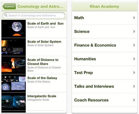 khan academy app android explore the treasure trove of khan academy s lessons with its new android app gizmoids