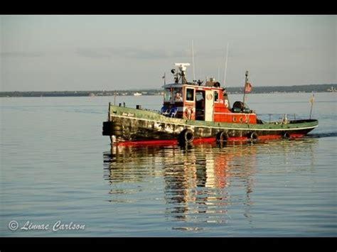 tugboat and the bird tugboat sea bird captain jim s story youtube