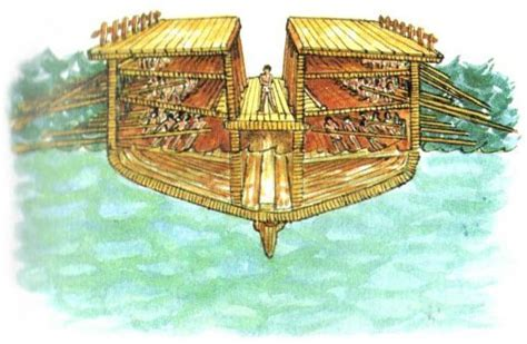navi persiane ancient trireme cross section the o jays and of