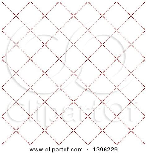 line pattern diamond clipart of a seamless pattern background of red flower