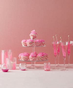 ideas for pink theme bridal shower real simple