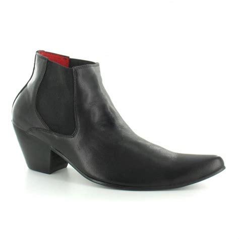 paolo vandini wi veer3 mens leather cuban heel chelsea