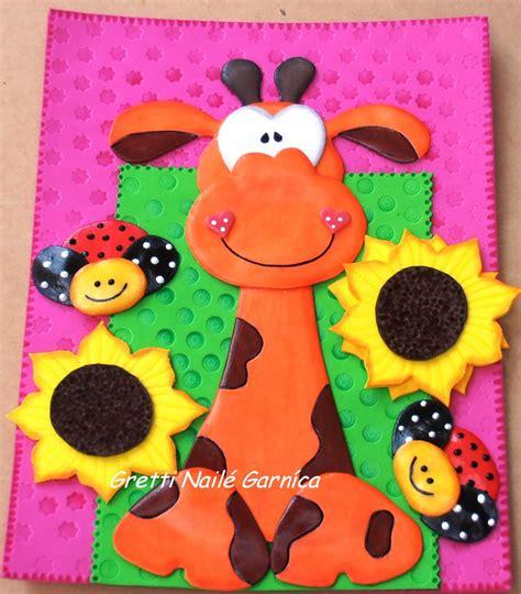 imagenes de jirafas para hacer en foami carpetas de jirafas en foami imagui