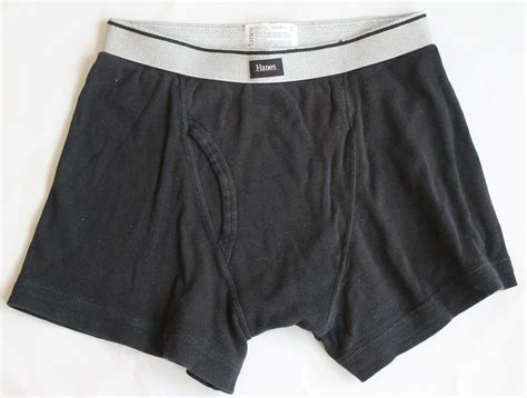 black underwear hanes men s 1 pr black underwear boxer briefs s 28 30