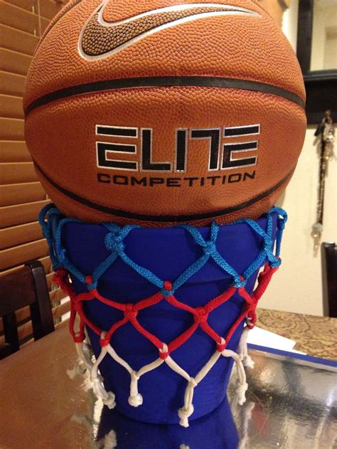 themes for basketball games basketball centerpiece hr creations pinterest
