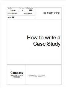 template for writing a study study template 6 ms templates with sles