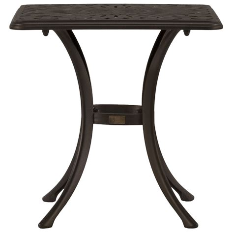 outdoor patio accent tables emerald outdoor primera city furniture primera dark tone end table