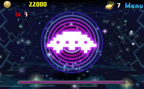 space invaders attack puzzle dragons  groove coaster