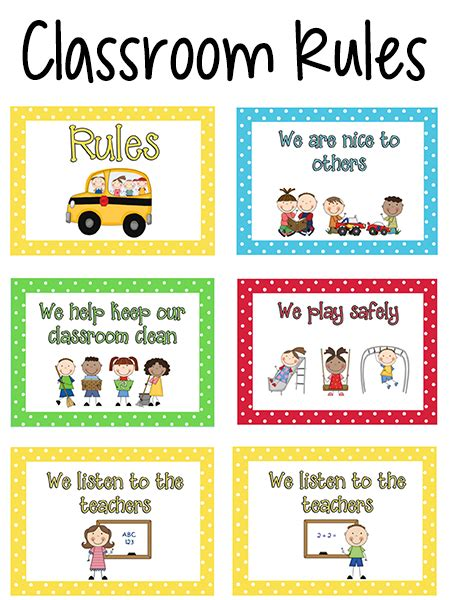 classroom layout rules pre k classroom rules prekinders