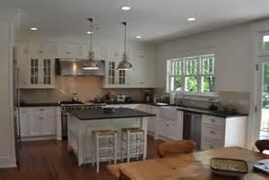 Coastal Kitchens And Bath - seagrass stools transitional kitchen msm property development