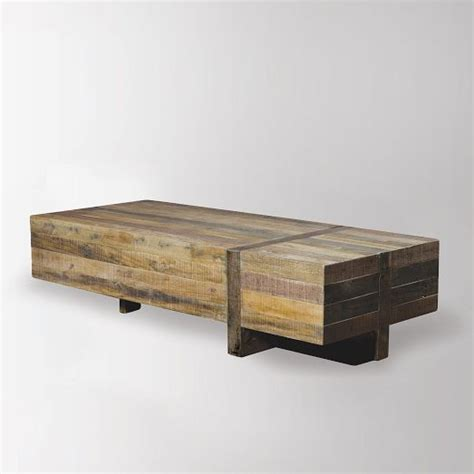 West Elm Wood Coffee Table Emmerson Block Coffee Table West Elm Furniture Pinterest Products Coffee Tables And Tables