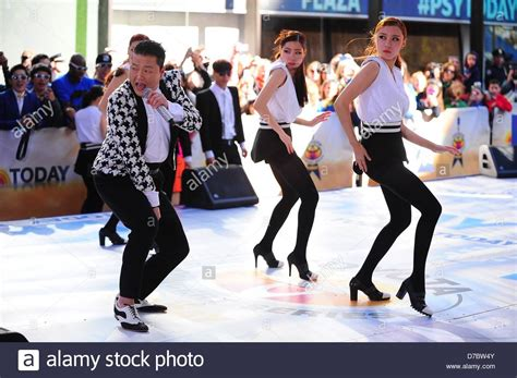 Toyota Stock Price Today New York Usa 3rd May 2013 Psy On Stage For Nbc Today