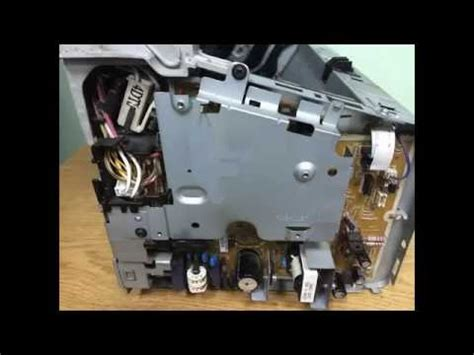 Fuser Assembly Hp P1102 85a Bagus 1102 desensamble impresora hp p1102w musica movil musicamoviles