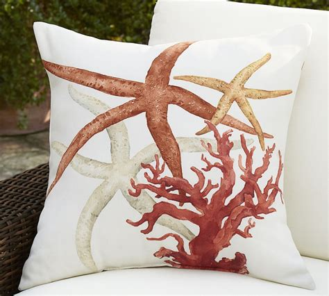 Coastal Pillow by Painted Coastal Pillows