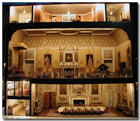 dolls house windsor castle queen mary s doll house at windsor castle living space