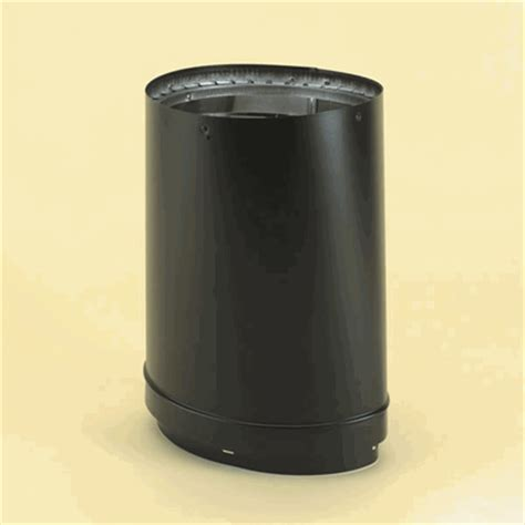 Vermont Castings Wood Fireplace Inserts by Dura Vent Dvl 8 Inch Vermont Castings Oval To Round Pipe