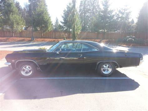 seller of classic cars 1965 chevrolet impala black black
