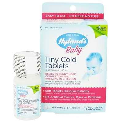 Shoo Detox L 39 by Hylands Homeopathic Remedies Baby Tny Cold Tab 1x125tab
