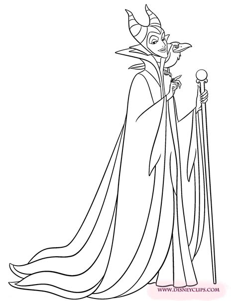 sleeping beauty coloring pages  disneyclipscom