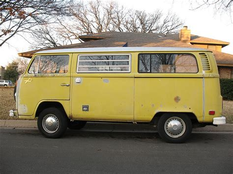 new volkswagen bus yellow yellow vw bus cmobile bay window in arlington texas