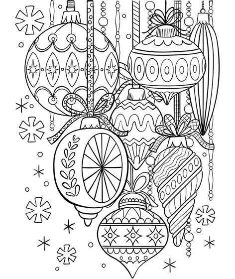 crayola coloring page ornament classic glass ornaments coloring page crayola com
