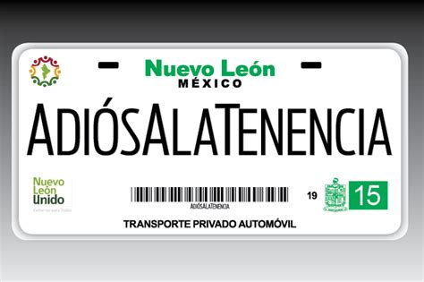 requisitos para pago de refrendo nuevo leon placas refrendo 2015 placas y tenencia nuevo leon pago de
