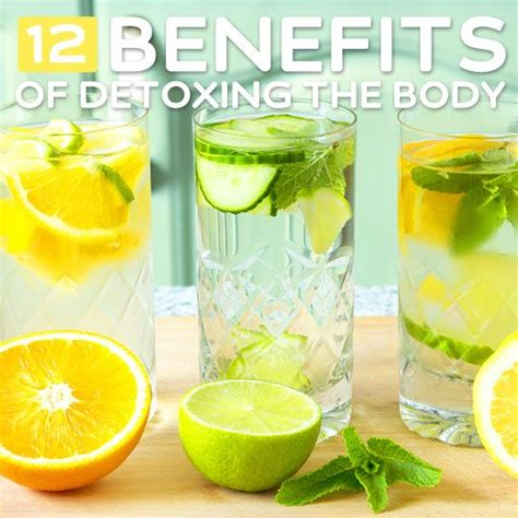 Can You Detox Your With Water by 12 Benefits Of Detoxing The Bembu