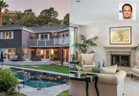 neil patrick harris home in photos celebrity homes photos abc news