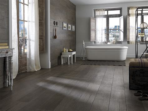 wood look tile in bathroom bathroom tile wood look home decorating ideas