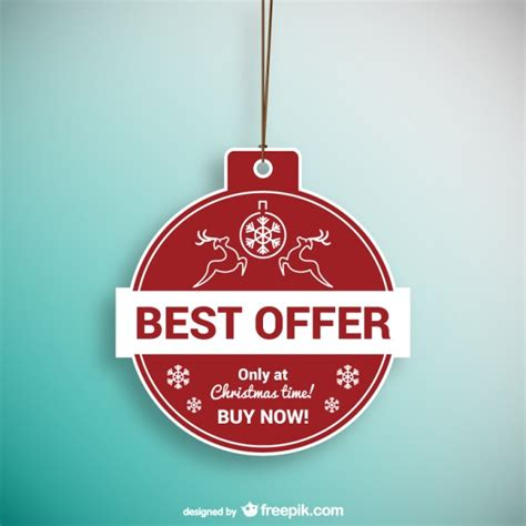 best free offers best offer label vector free