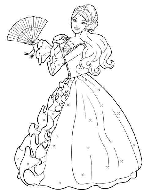 disney coloring pages barbie disney cartoon barbie doll princess coloring pages
